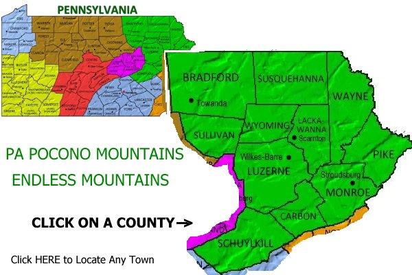 PA Pocono Mountains Vacations and Travel Adventures  Poconos